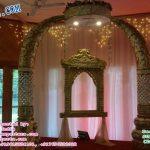 Royal Indian Wedding Entrance Decor