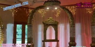 Royal Indian Wedding Entrance Decor