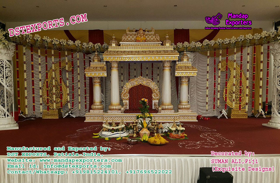 South Indian Temple Style Mandapam