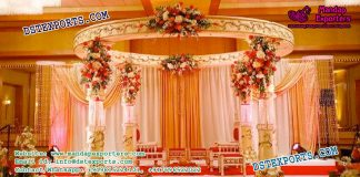 Sweden Wedding Crystal Fiber Mandap