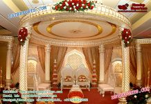 Traditional Look Indian Wedding Mandap