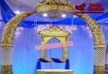 Trunk Pillars Wedding Decoration