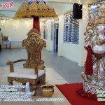 Wedding Entrance Decoration With Ganesha Statue