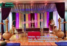 Arabian Mehandi Night Stage Decor