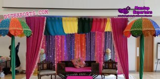 Arabian Sangeet Night Stage Decoration
