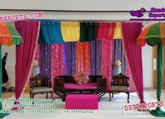 Arabian Sangeet Night Stage Decoration