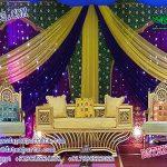 Arabian Style Mehandi Stage Sofa Set