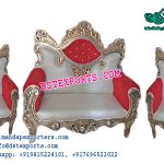 Asian Wedding Wooden Metal Carved Furniture