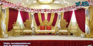 Best Designed Asian Wedding Stage Decor Canada