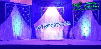 Buy Wedding Stage Backdrop Candle Wall
