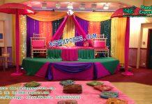 Exclusive Sangeet Ceremony Stage Decor