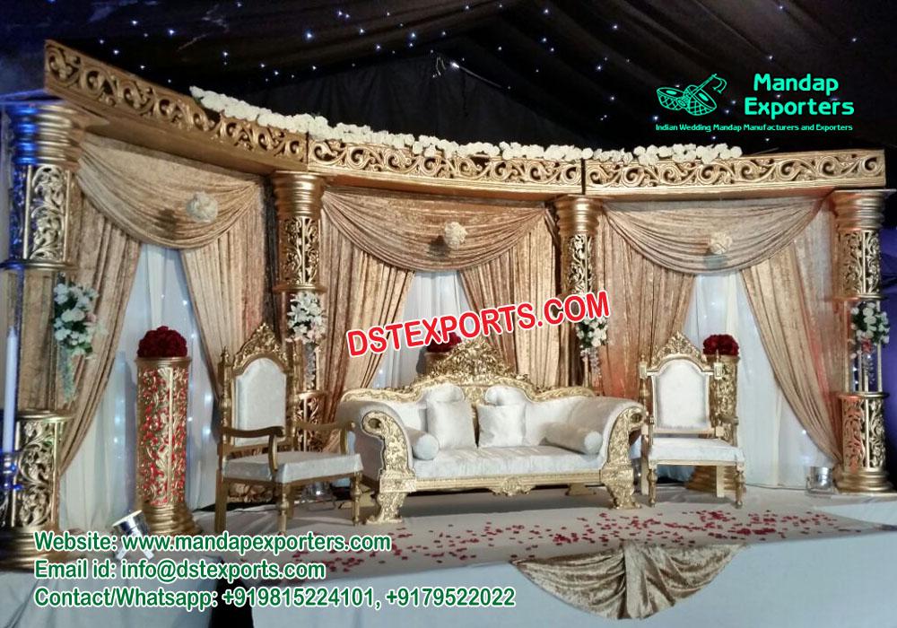 Eye-Catching Wedding Stages Set Decor