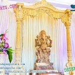 Ganesha Entrance Theme Stage Decoration