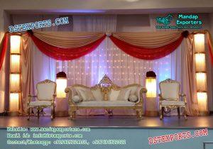 Asian Wedding Stage Sofa Set