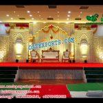 Grand Asian Wedding Stage Decor Canada