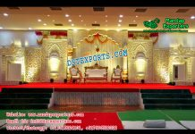 Grand Asian Wedding Stage Decor Canada