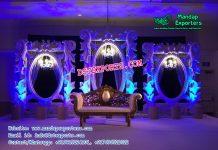 Grand Wedding Stage Backdrop Panels