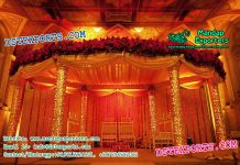 Imperial Wedding Golden Fiber Mandapam