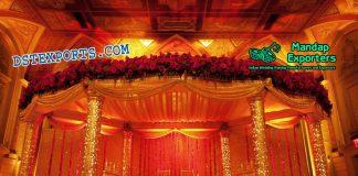 Imperial Wedding Golden Fiber Mandapam