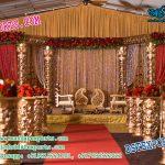 Indian Wedding Fiber Mandap Set