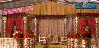 Indian Wedding Fiber Mandap Set