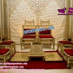 Indian Wedding Sankheda Chairs Set