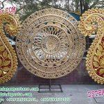 Indian Wedding Stage Round Panels Decoration