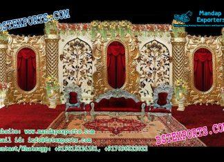 Latest Asian Wedding stage Backdrop Panels