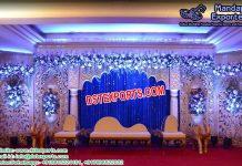 Bollywood Style Wedding Stage Setup