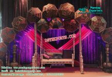 Mehandi Stage Decoration With Swing
