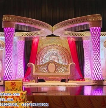 Mejastic Butterfly Wedding Stage Set Decor