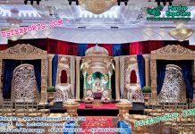 Mughal Theme Wedding Stage Setup