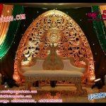 Mughal Wedding Stage Backdrop Panels