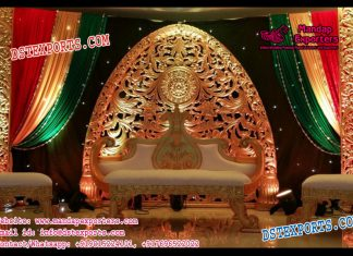 Mughal Wedding Stage Backdrop Panels