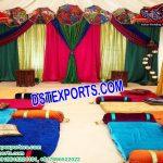 New Mehndi Cremony Stage Setup Decor