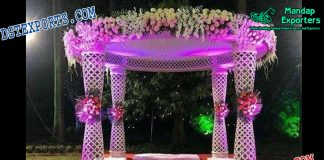 Norway Open Area Wedding Mandap Set