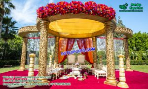Open Area Wedding Mandap Decor UK