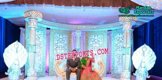 Prominent Wedding Stage Backdrop Panels