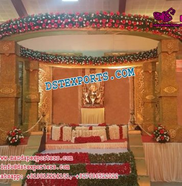 Royal Design Indian Wedding Mandap Decor
