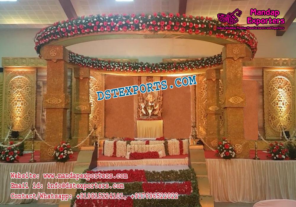Royal Design Indian Wedding Mandap Decor