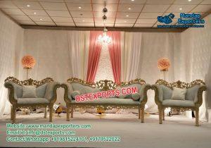 Royal Designed Wedding Stage Sofa Set