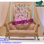 Royal Muslim Wedding Stage Furniture Set