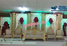 Stunning Asian Wedding Stage Decor