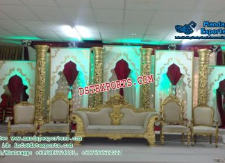 Stunning Asian Wedding Stage Decor