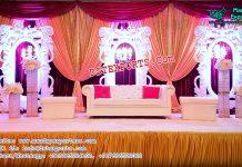 Stylish Wedding Stage Set Decoration