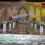 Stylish Wedding Stage Leather Tuffted Panels