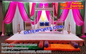 Flawless Arabian Wedding Mehndi Celebration Decor