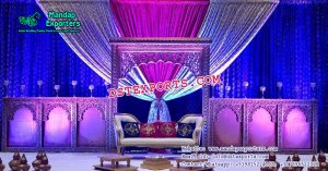Asian Marriage Reception Stage Decoration