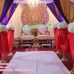 Asian Wedding Stage Set Decor