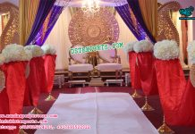 Asian Wedding Stage Set Decor